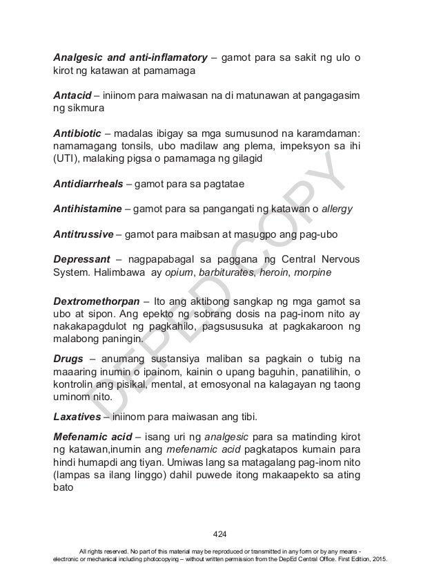 K TO 12 GRADE 4 LEARNER'S MATERIAL IN HEALTH (Q1-Q4)