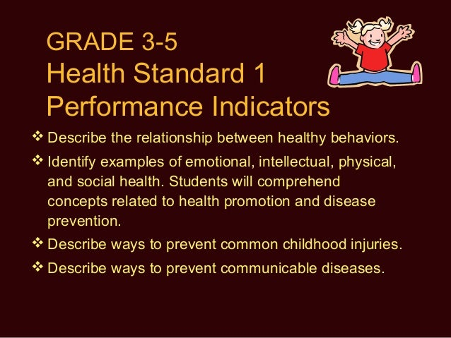 describe the relationship between healthy behaviors and personal health