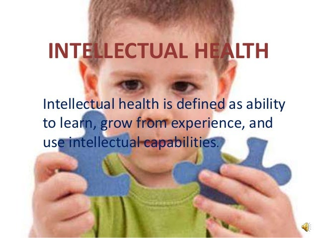 what is intellectual health
