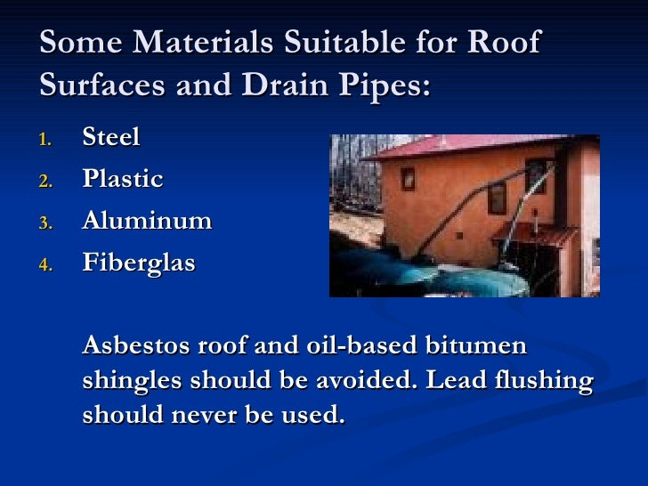 Health And Safety Of Rainwater Harvesting