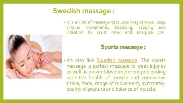 Massage Health benefits in a SPA