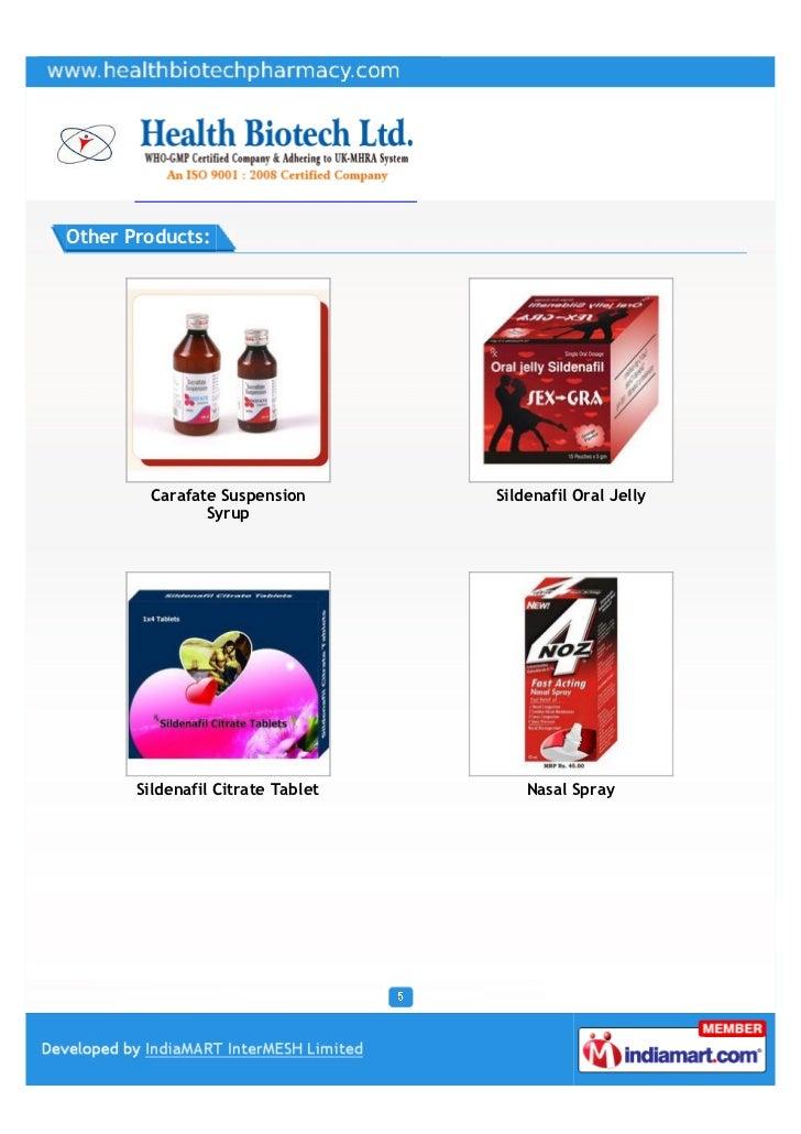 Health Biotech Ltd., Chandigarh, Pharmaceutical Products slideshare - 웹
