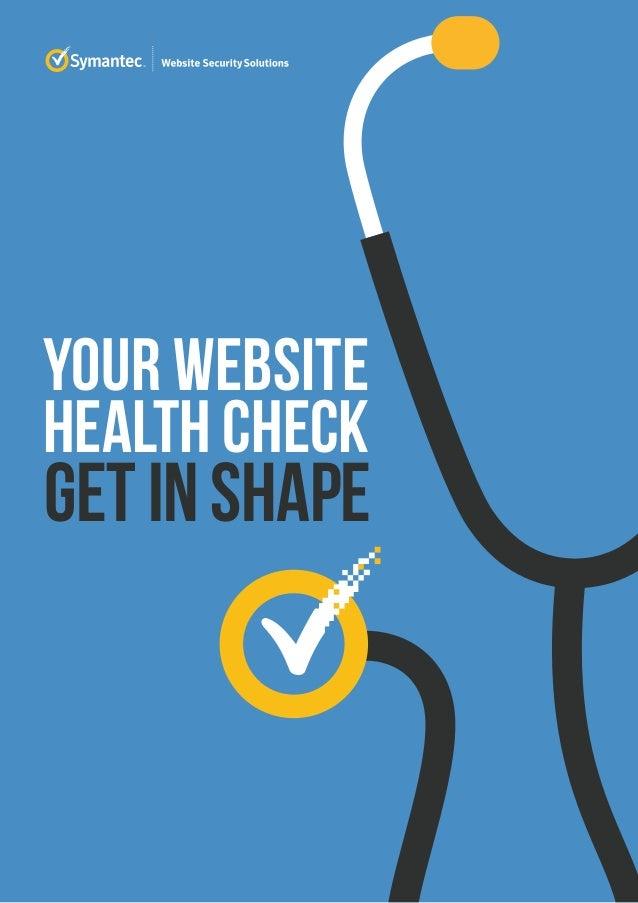 Health Check Report 2015 Symantec