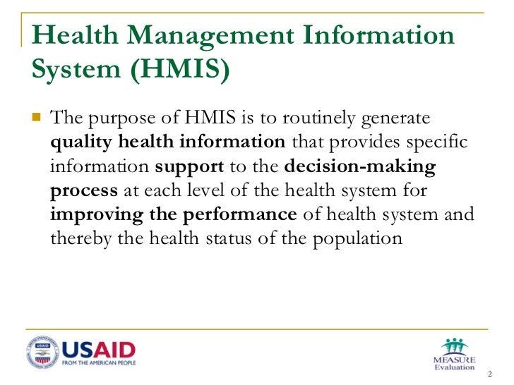 Health Management Information System in Ethiopia