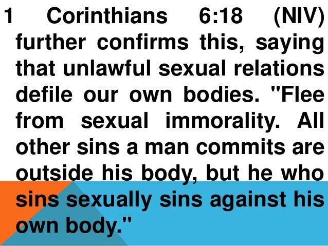 Is masturbation sexual immorality