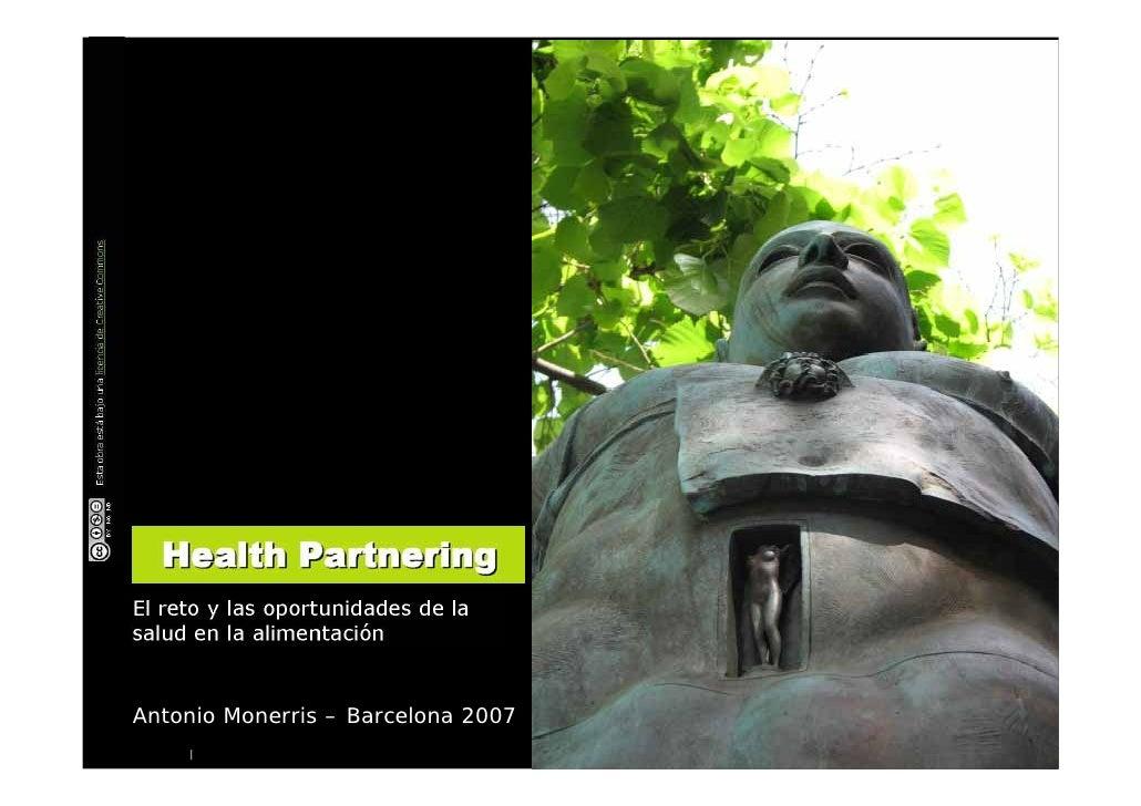 Antonio Monerris – Barcelona 2007     |                                     Antonio Monerris – Salud y alimentación : dos ...