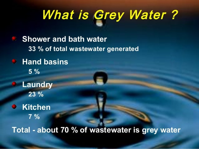 Health Risks Greywater