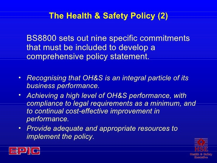 Successful Health And Safety Management Hsg65 Epub
