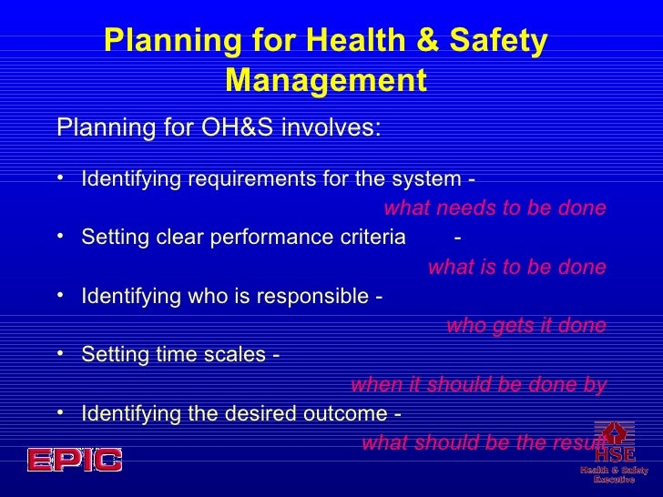 identify the lines of responsibility and reporting for health and safety in the setting The alliance of chicago community health services developed a customized ehr system to provide decision support for clinicians and link clinical performance measures with key patient characteristics to identify disparities in performance and inform quality improvement efforts the alliance of four.