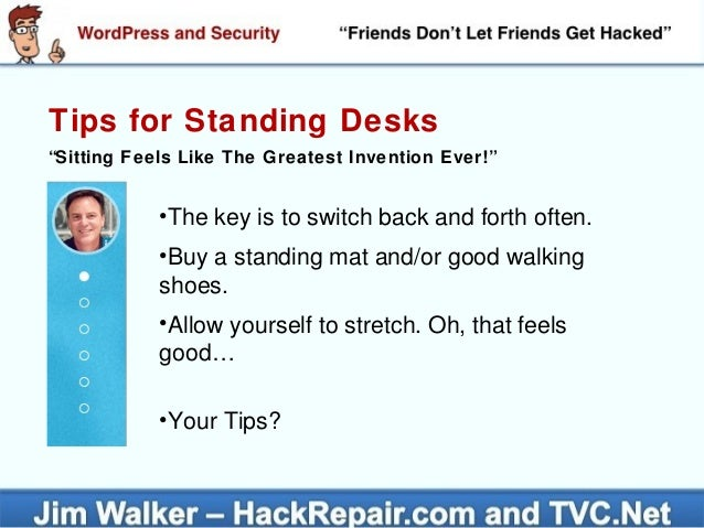 Tips For Standing ... Design