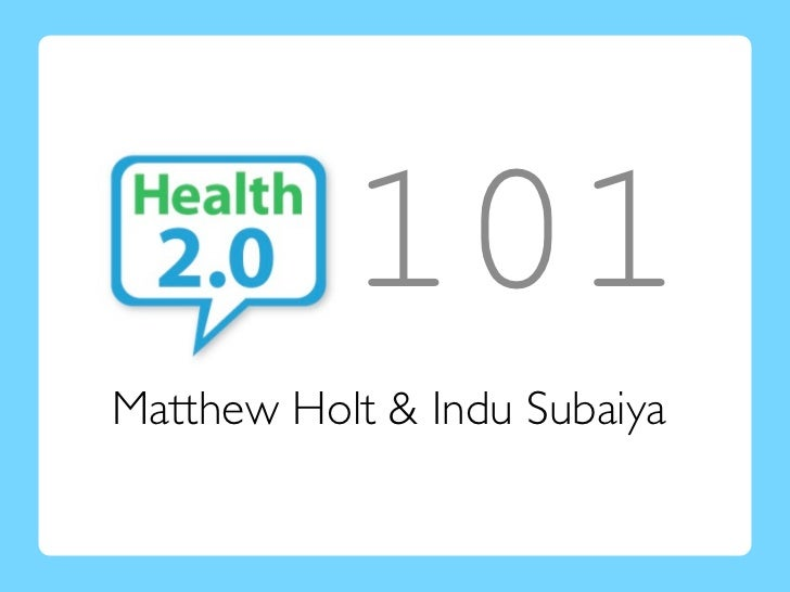 101Matthew Holt & Indu Subaiya