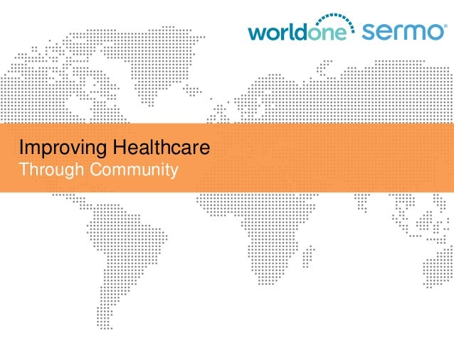 Improving Healthcare Through Community