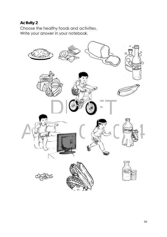 Image Of Healthy Food Unhealthy Food Worksheet Healthy Foods