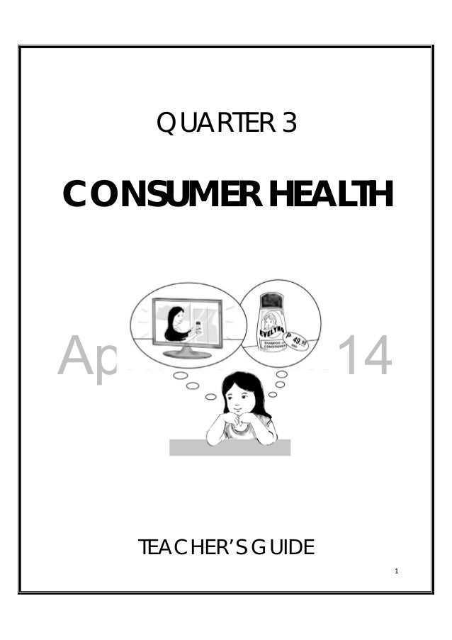 Grade 3 Health Teachers Guide
