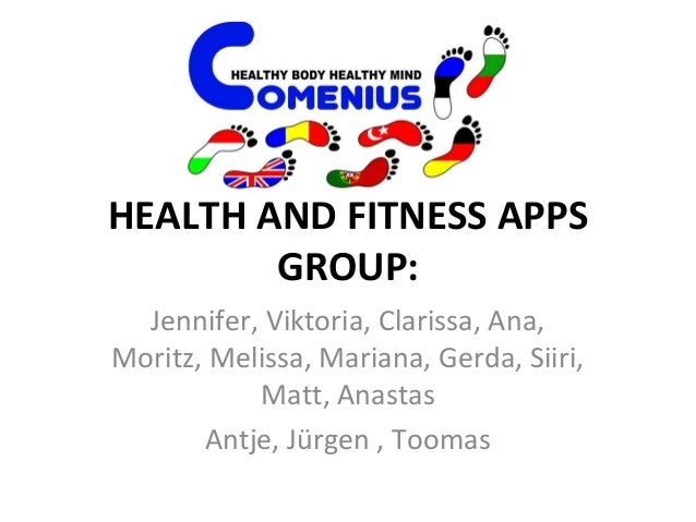 Health and fitness apps Slide 2