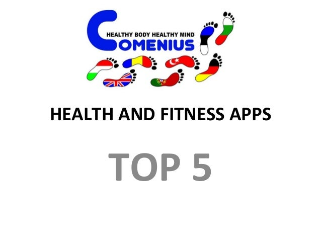 Health and fitness apps Slide 3