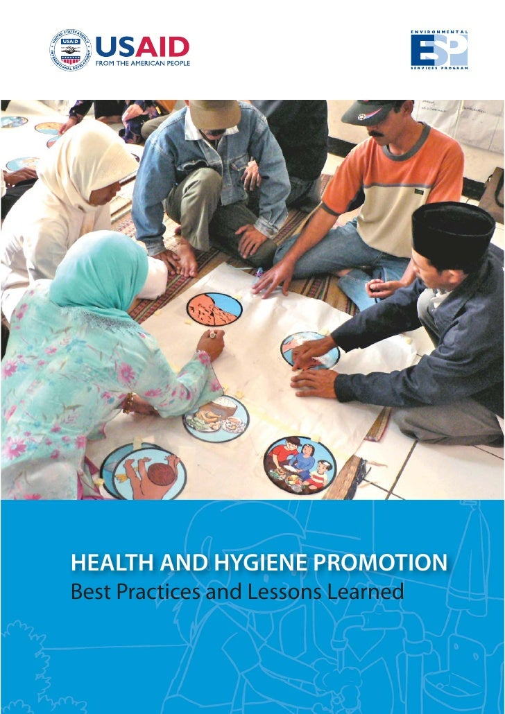 HEALTH AND HYGIENE PROMOTIONBest Practices and Lessons Learned