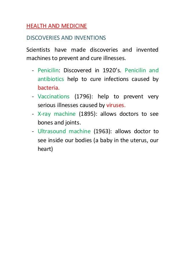 Health and medicine