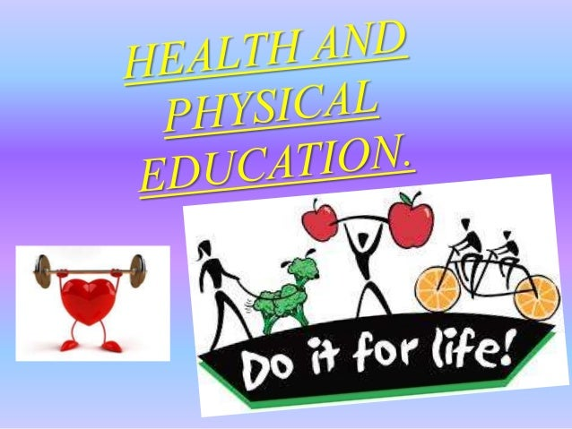 thesis on health and physical education Recess and physical education in the nation's public and private office of disease prevention and health promotion physical activity guidelines advisory.