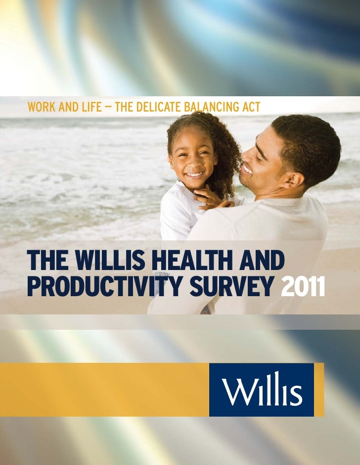 WORK AND LIFE — THE DELICATE BALANCING ACTTHE WILLIS HEALTH ANDPRODUCTIVITY SURVEY 2011