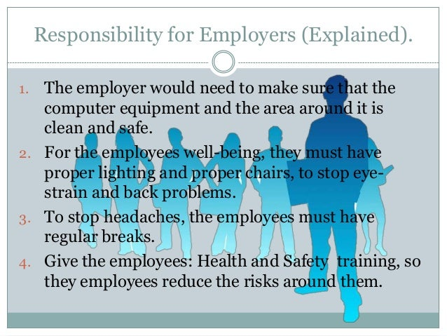 who is responsible for safe manual handling in the workplace