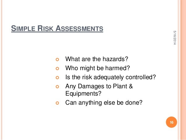 purpose of manual handling risk assessment