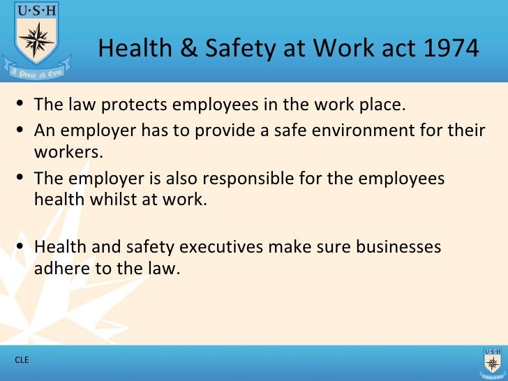 1 2 health and saftey To establish an advisory council for occupational health and safety and to provide for matters connected therewith 1 definitions-(1) in this act, unless the context otherwise indicates- approved inspection authority means an inspection authority approved by.