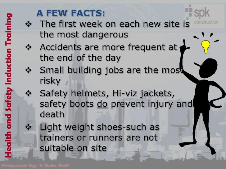 how to write a health and safety plan