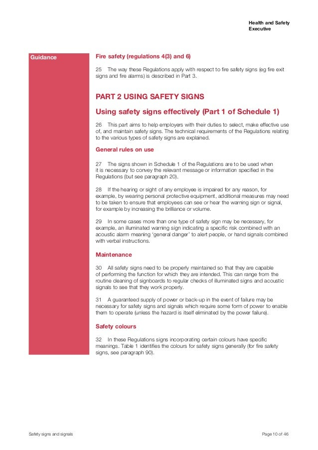 Health And Saftey Signsl64