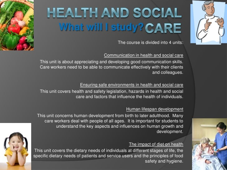 health and social coursework Example piece (not exemplar) gce health and social care  new specification  unit hsc01  effective care and communication  example portfolio  march 2013.