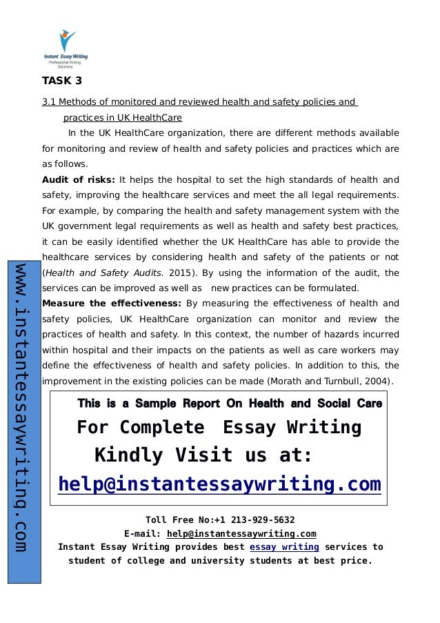 Compare Contrast Essay Outline Example   Essay On Diabetes also Reconstruction After The Civil War Essay Sample Report On Health And Social Care By Expert Writers Adversity Essays