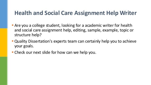 health and social care assignment 208 Assignment 208 task a plan you are planning an outing with a group of  individuals  prepare a plan for all social care workers and helpers to follow   health and safety at work etc act 1974 (hswa) manual handling.