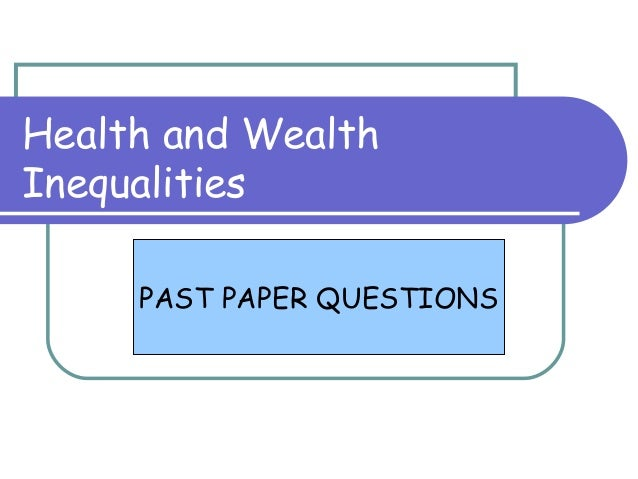 Wealth essay