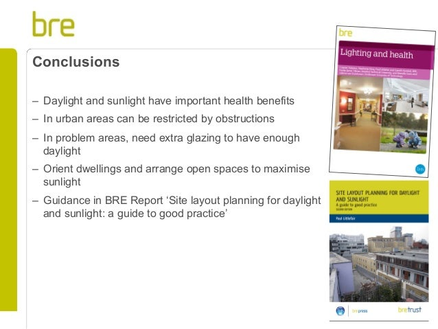 site layout planning for daylight and sunlight a guide to good practice