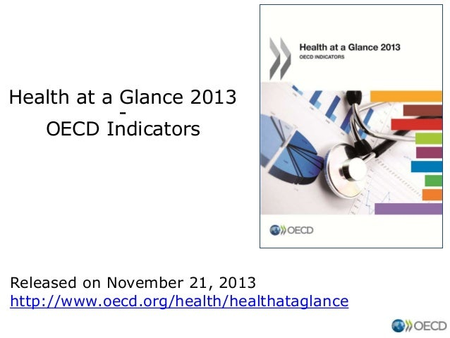 Health at a Glance 2013 OECD Indicators  Released on November 21, 2013 http://www.oecd.org/health/healthataglance