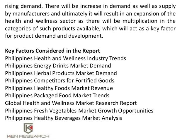 Packaged food industry analysis
