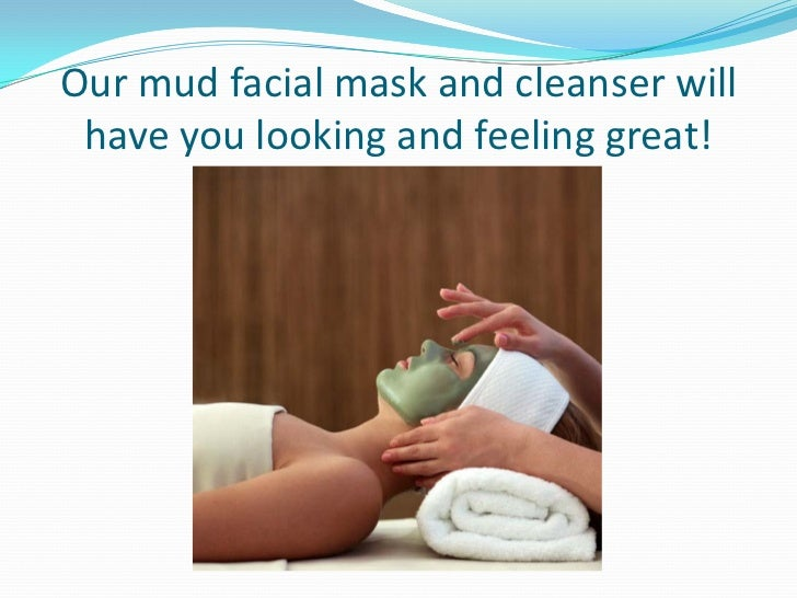 You will love our face cleansing mineral water.