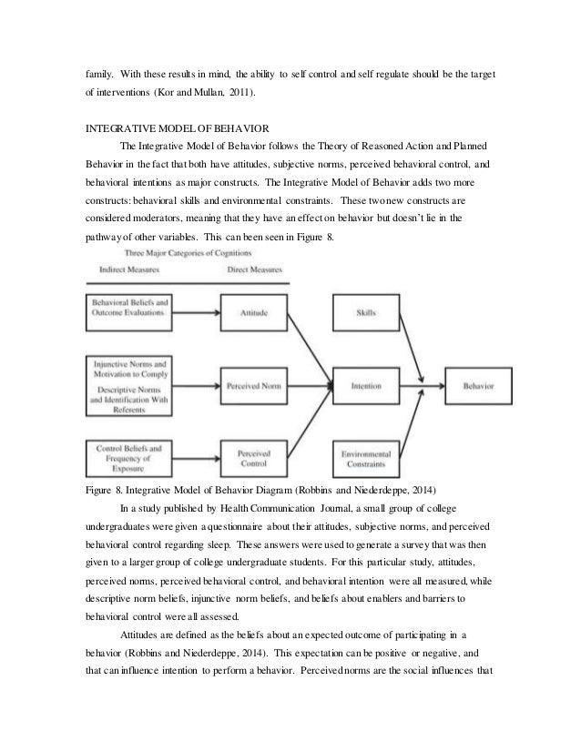health behavior essay Behavioral self-management the target behavior that i tried to modify was my addiction to junk food.
