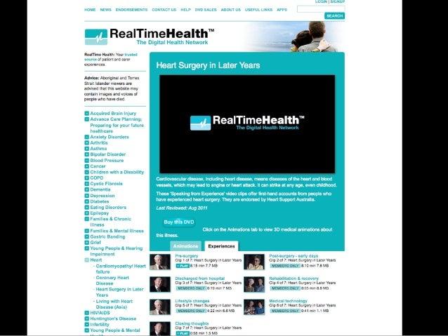 Health, behaviour change & technology : a snapshot - May 2013