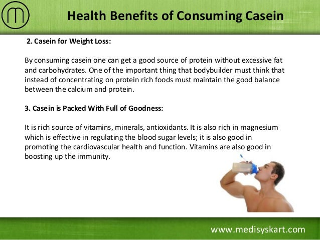 Benefits Of Consuming Casein Protein