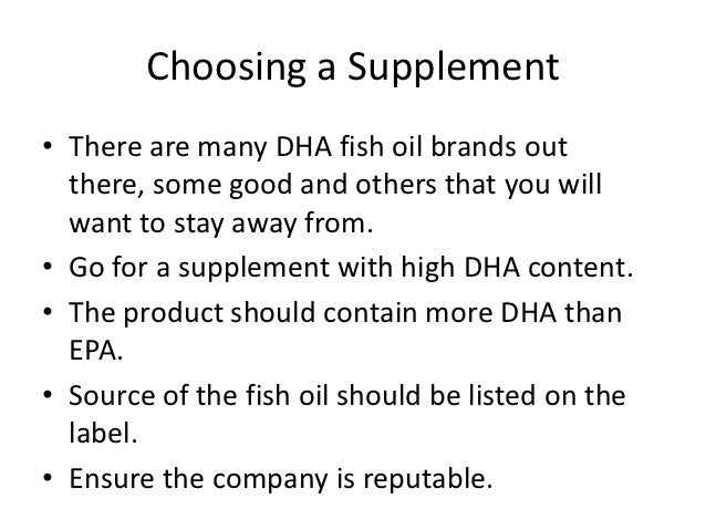 Health benefits of dha fish oil for Fish oil recommendations