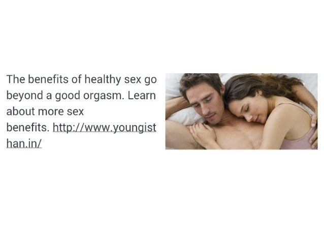 Is it healthy to have sex everyday