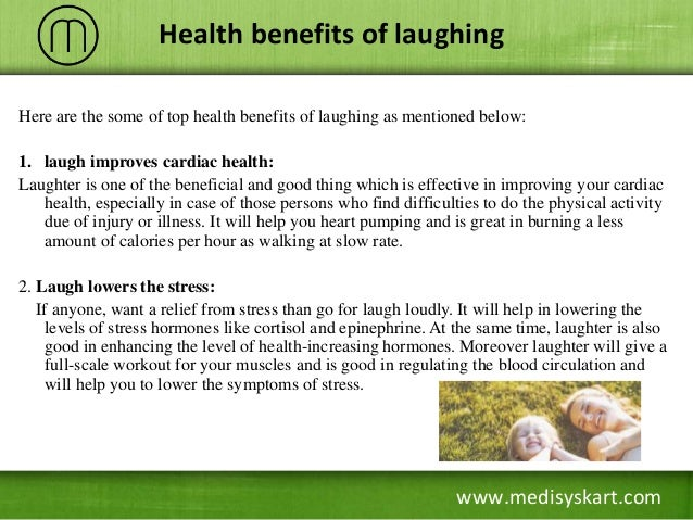 importance of laughter Thirty years as a caregiver has taught me the importance of humor and laughter furthermore, i found it helpful to look for the genuinely funny.