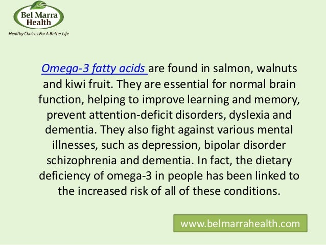 Omega-3 Benefits, Including for Heart and Mental Health