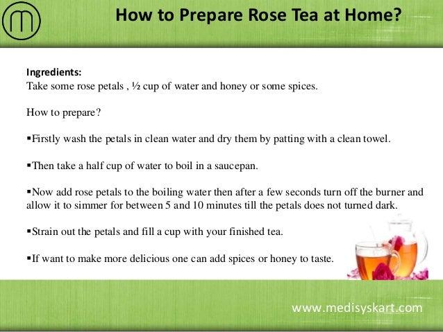 Health Benefits of Rose Tea