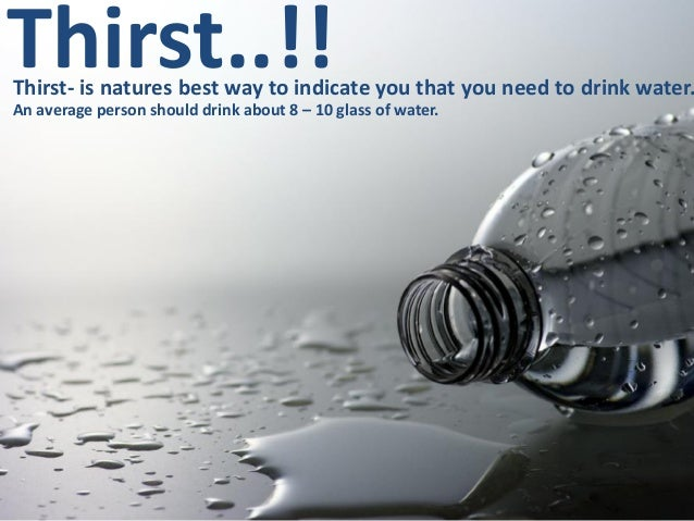 importance of water in the body