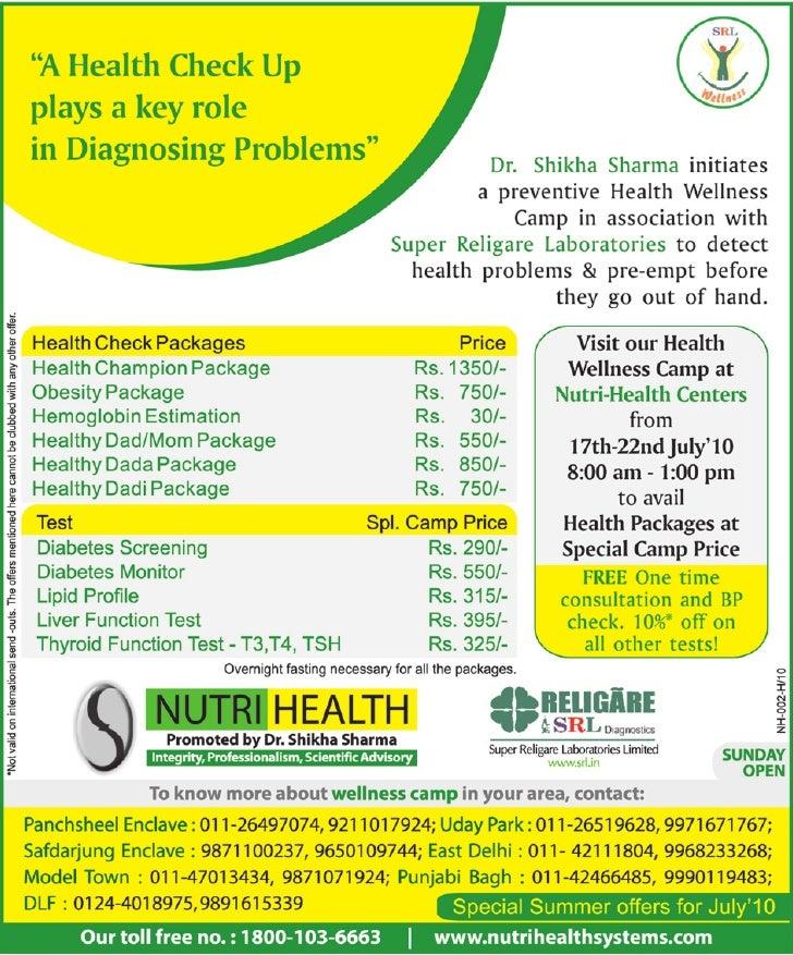 Health Wellness Camp