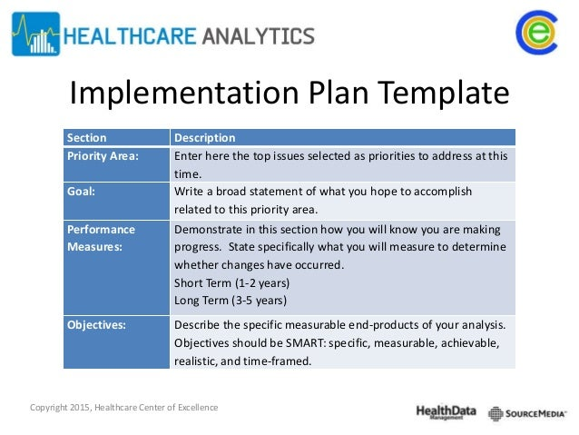 policy implementation plan template - implementation change management and the application of