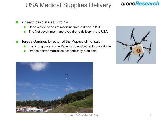 Drones in Healthcare