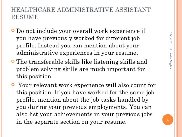 skills to put on resume for administrative assistant